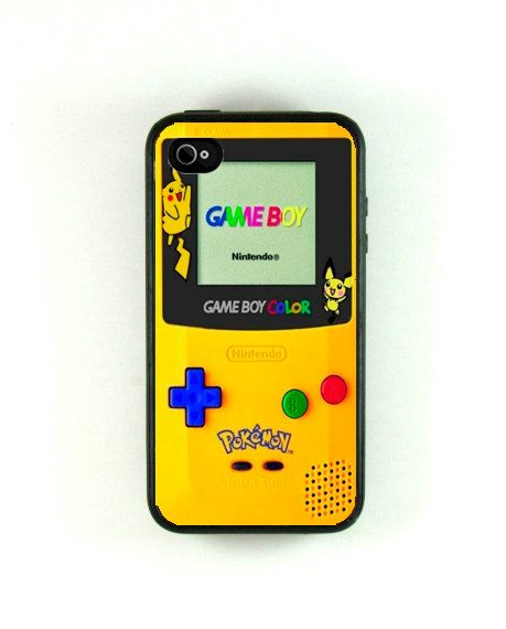 Iphone 4s Case  Cool Pokemon Gameboy Iphone by fundakiphonecases, $16.00 @Olivia Spears