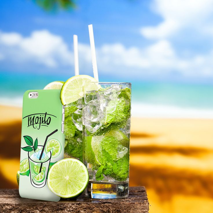 #Cover #Mojito #Cocktail #Drink #Lemon http://www.creatink.com/product/iphone-cover-case/mojito/