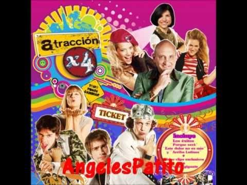 Cd Atraccion x4 'Todo Puede Cambiar': 9) Este Dolor No Es Mio (Balada) - YouTube