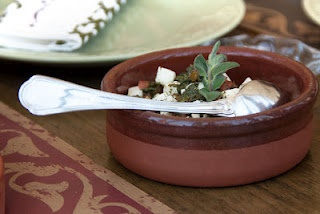 Nabulsi cheese with tomatoes, olive oil and herbs. Sufra Restaurant, AmmanOlive Oil