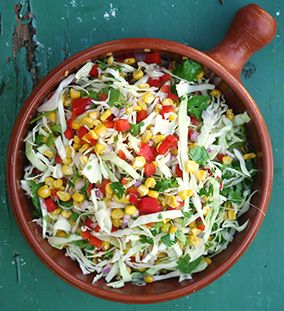 Mexican-style Roasted Corn Salad - Julie Goodwin recipe