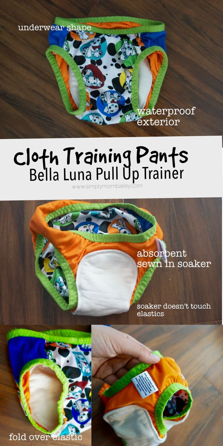Bella Luna Pull Up Trainer for Potty Training - Cloth Training Pants #clothdiaper #pottytraining - Made in Canada, WAHM, Waterproof, Best Training Pants for Toddlers, Customizable Training Pants - Trainers
