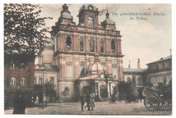 alte AK Wilna - Die griechisch kathol.Kiche - 1916   eBay