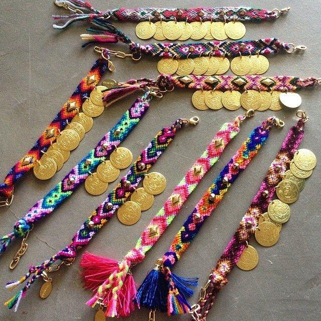 Hermina wristwear boho friendship bracelets