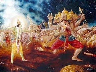Shri Ram killed Ravana