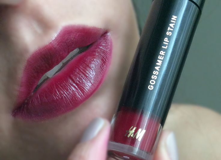 H&M lip stain in leading lady
