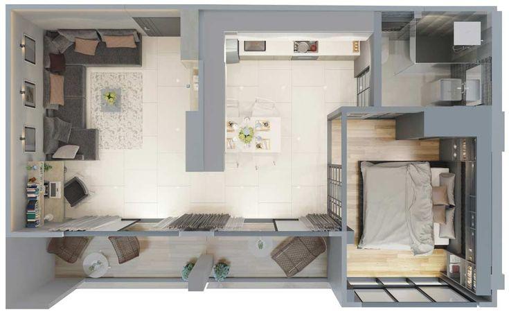 Type E - Deluxe - CITYGATE Phuket - Best condominium Kamala
