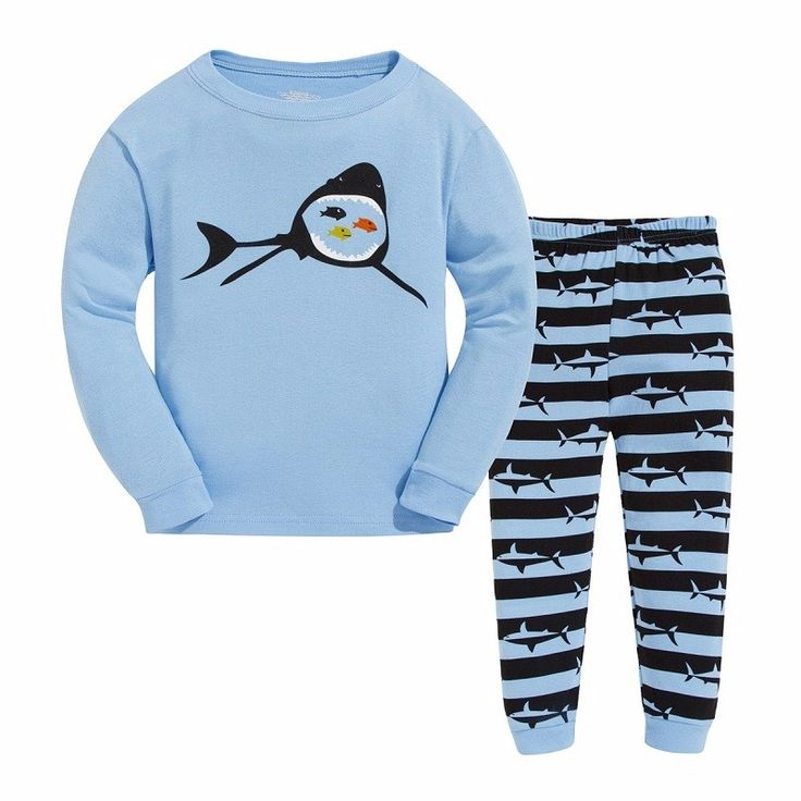 Free Shipping 2-7Years Kids Character Pajama Sets Children's Sleepwear Baby Christmas Cartoon Clothes Girl Boy Clothing Sets
