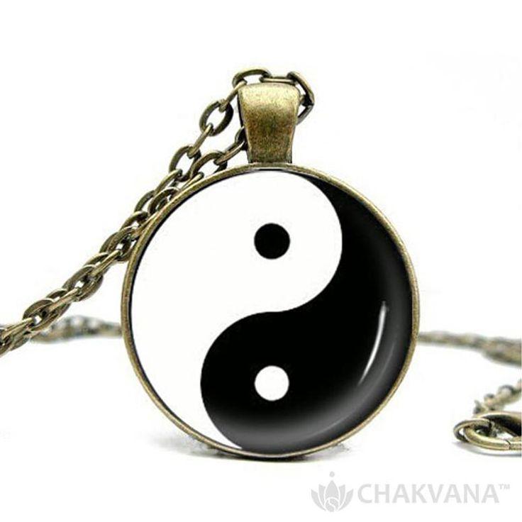 Yin Yang Balance | Pendant Necklace