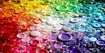 Botones arco iris