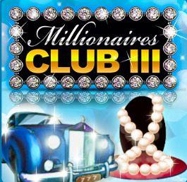Bli miljonär med nya Millionaires Club 3 spelautomat hos Lyckoskrapet!