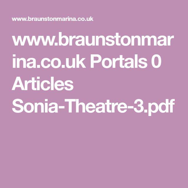 www.braunstonmarina.co.uk Portals 0 Articles Sonia-Theatre-3.pdf