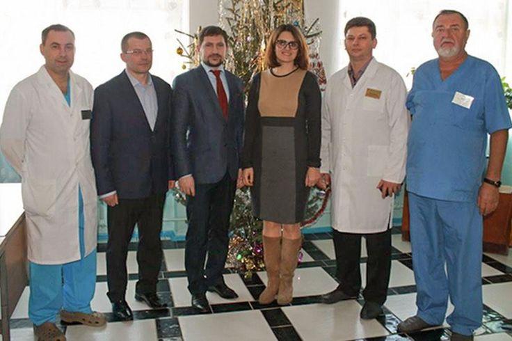 При поддержке WOG Винницкая детская больница получила инкубатор для новорожденных