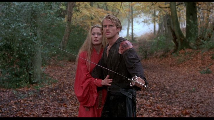 Wesley will hold back the mob while you go buy your ticket for The Princess Bride (1987), showing at Queen's Park.