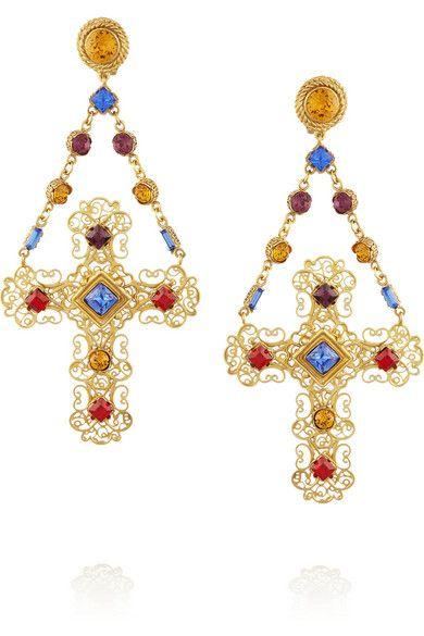 Dolce & Gabbana earrings www.bibleforfashion.com #bibleforfashion