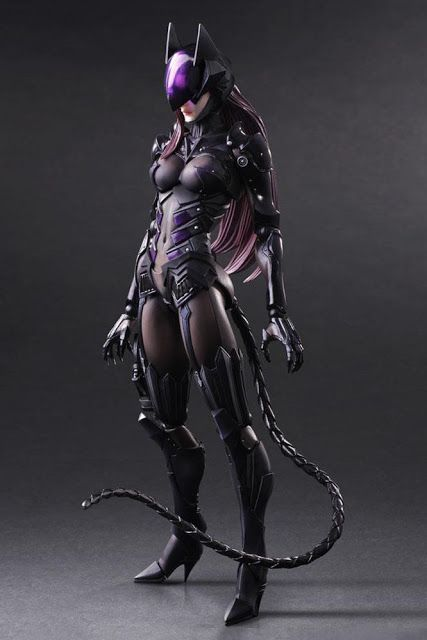 Check out Square Enix Play Arts Kai DC Comics Variant Catwoman 10.5-inch tall…