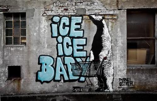 Street Art en Noruega    Pobel es un artista callejero de Noruega. El es muy apasionado con el street art. En julio de 2012 realizo el festival del arte callejero Komafest en Vardø, Noruega.