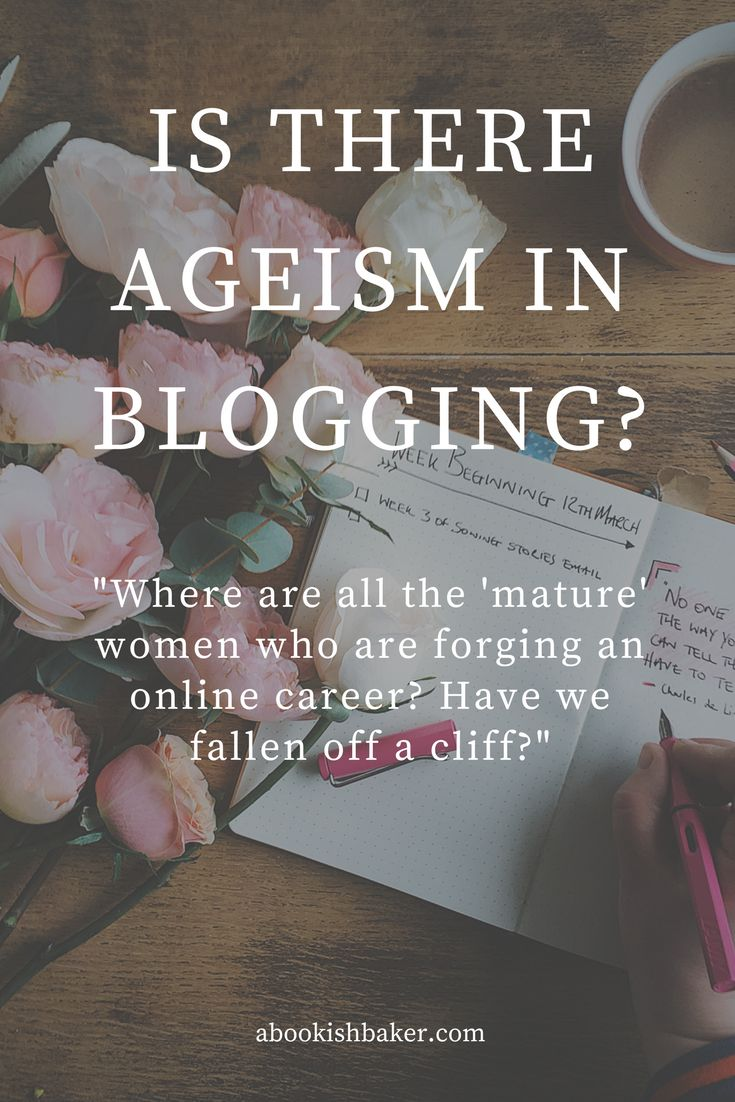 is there ageism in blogging?