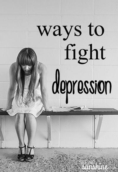 Ways to Fight Depression www.ourmindandbod...