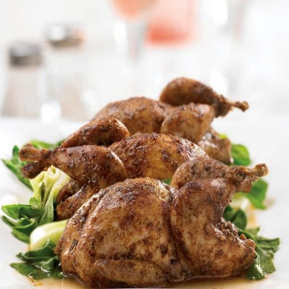 Roasted Five Spice Quail | Meat: Quail | Pinterest ...