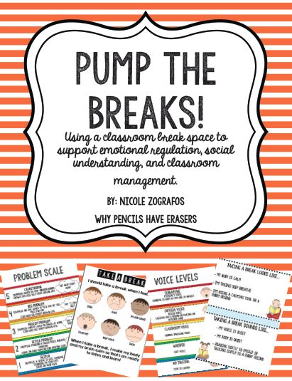 Wondering how to implement a classroom break space? Read on to see how to use this tool for classroom management, emotional/behavioral support for kids with ASD, trauma, etc and kiddos with sensory needs!