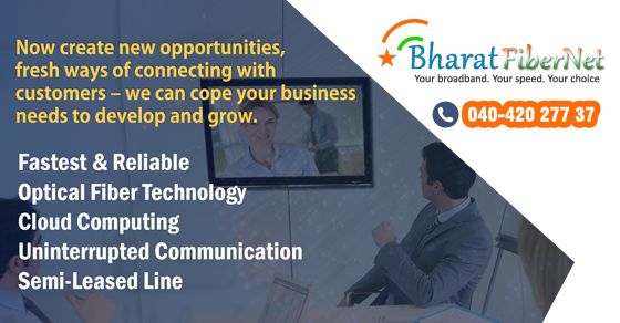 #Bharat #Fibernet provides a wide range of #Fiber, #broadband #plans in #Hyderabad. Subscribe to the fastest #internet #connection. Contact us: +91 40-42027737 / 040-64642334