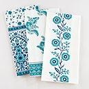 Teal Floral Kitchen Towel Collection | World Market (teal!)
