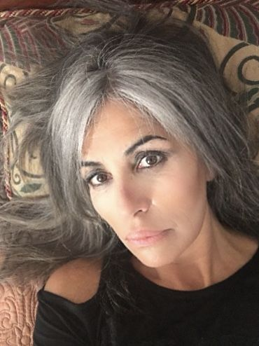 Gray hair don t care. Salt and pepper gray hair. Grey hair. Silver hair.  White hair. don t care. No dye. Dye free. Natural highlights. c32e751e6d86