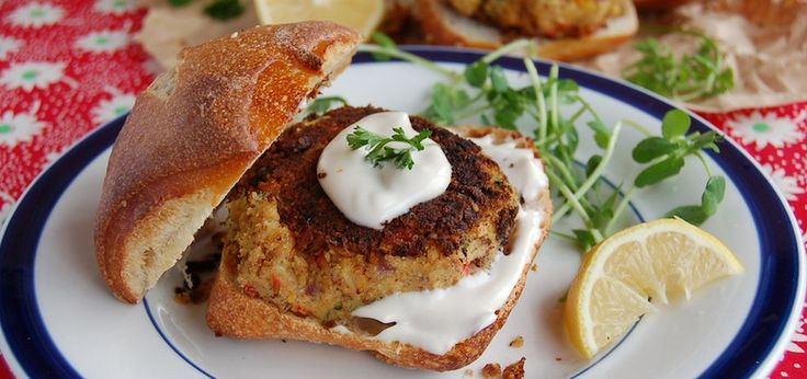 Sweet Balsamic Chickpea Cakes (They're Vegan, Too!)