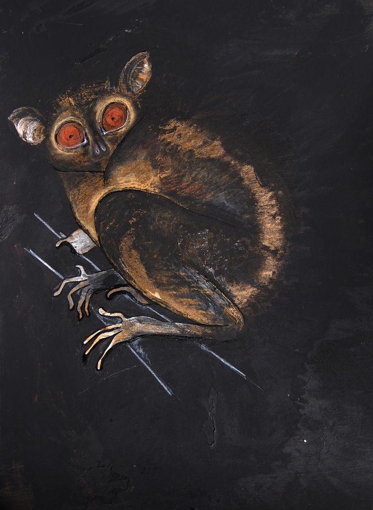 Made by Willemien Mensing Spookdier/Tarsius syrichta