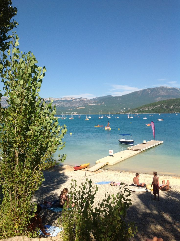 Lac St Croix, Provence.