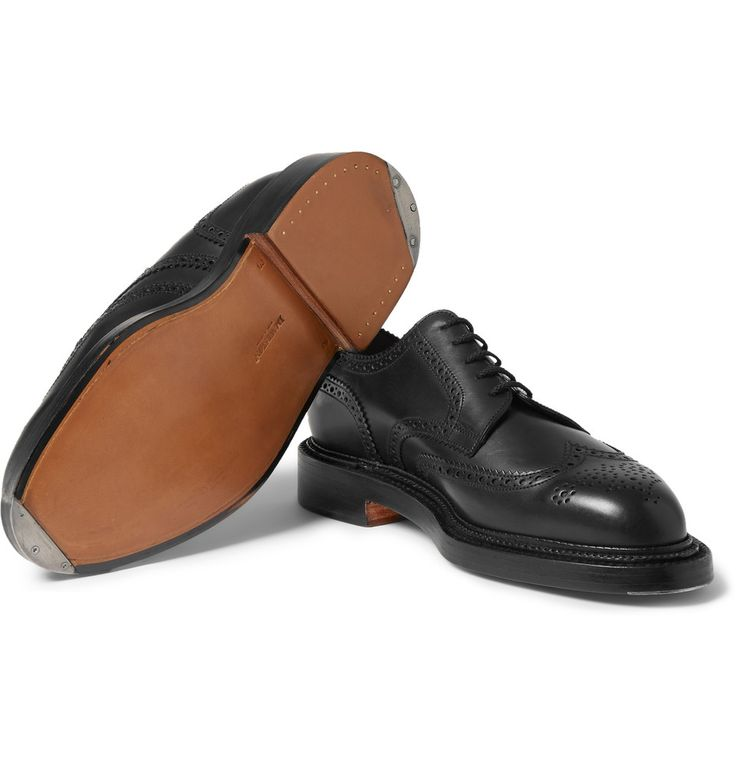 j m weston 590 leather wingtip brogues men 39 s shoes. Black Bedroom Furniture Sets. Home Design Ideas