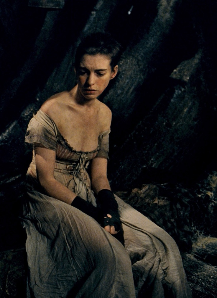 Anne Hathaway in Les Miserables (2012)