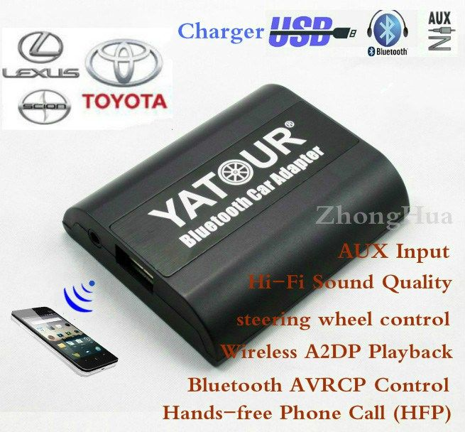 Cheap price US $89.30  Yatour for Toyota Avensis Avalon Camry Lexus LS460 Scion YT-BTA Bluetooth Hands-free Phone AUX 6+6 plug Car Adapte Free shipping  #Yatour #Toyota #Avensis #Avalon #Camry #Lexus #Scion #YTBTA #Bluetooth #Handsfree #Phone #plug #Adapte #Free #shipping  #BestSeller