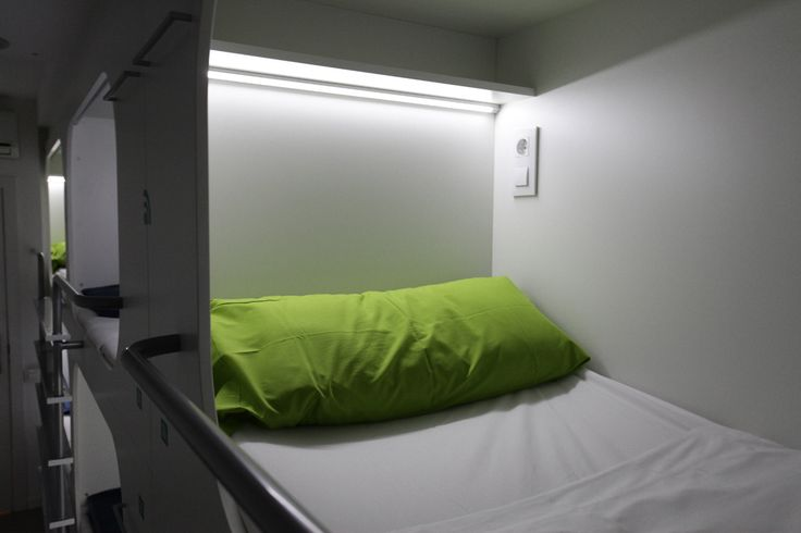 All the beds have their own light and socket.