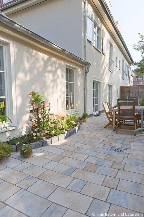 Fiero Terrassenplatten In Sanften Beige Grau Farben Passen Gut Zum
