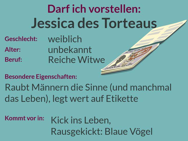 Darf ich vorstellen: Jessica des Torteaus. Hier ein kurzer Steckbrief.