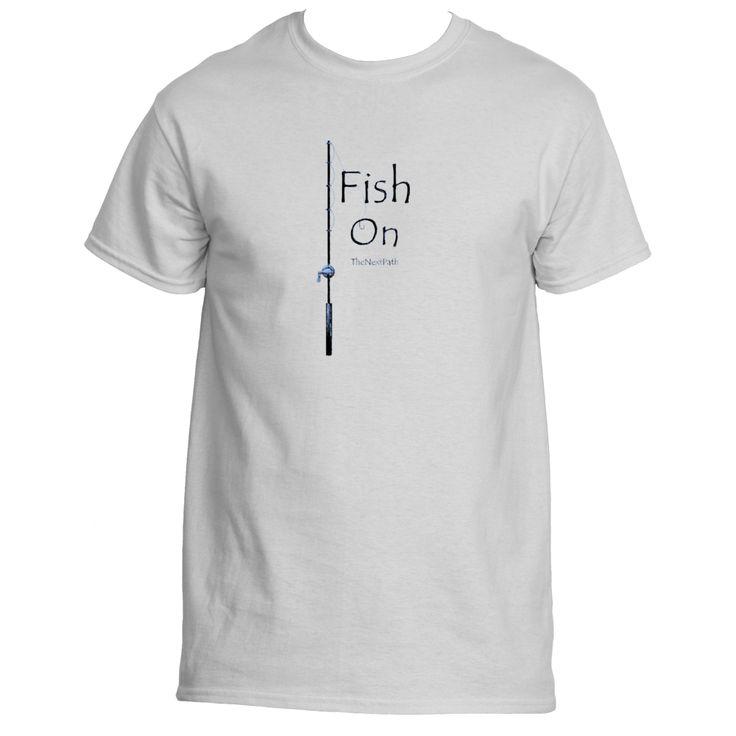 Fish On Men's Short Sleeve Tee