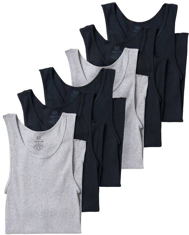 Men's Fruit of the Loom 6-pack A-Shirts