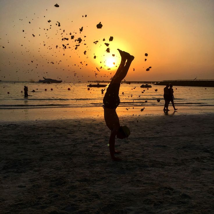 Skills at Dubai Beach