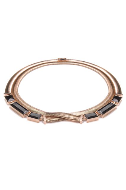 FAY NECKLACE - ROSE GOLD LUXE - elizabethJEAN