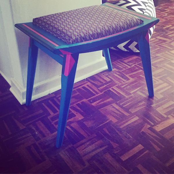 """Upcycling Chairs DIY - Refreshing With A Lick of Paint! BEFORE """"edition1"""" by Erin Bosenberg, Image Source instagram.com/kittycatdreamin/"""