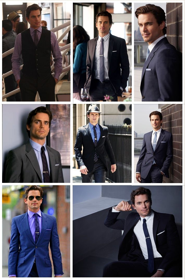 Neal Caffrey (Played by Matt Bomer) teaches a lesson of vintage tie clips.