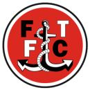 Fleetwood Town F.C. Champions of the Conference 2011/12 and therefore promoted to League Two