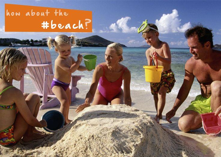 Play in the sand or swim in the ocean at a #beach near you for a #familyfun #summer getaway!