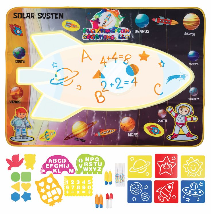Space Rocket Science Theme Kinesthetic Toddler learning ...