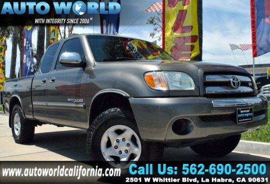 Truck, 2004 Toyota Tundra SR5 with 2 Door in La Habra, CA (90631)