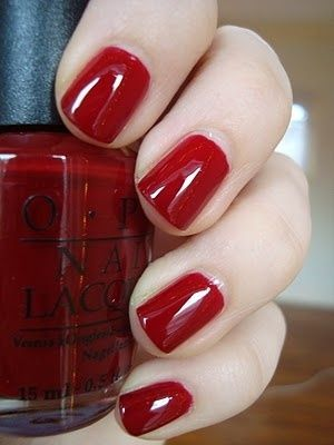 Opi Edin Burgundy Just Got This The Other Day I Think It May Be A Good Fall Color Nail Polish
