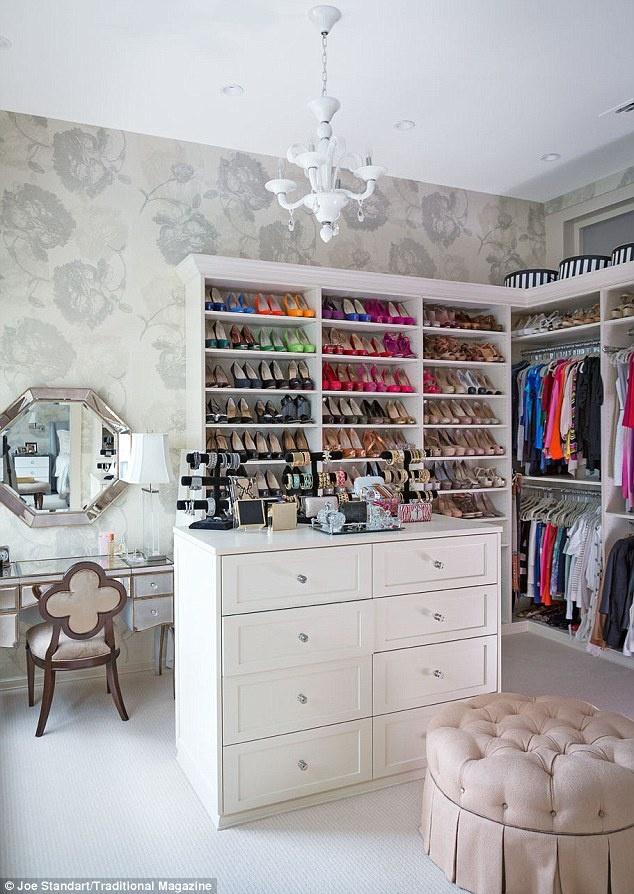 Spacious closet... yes please
