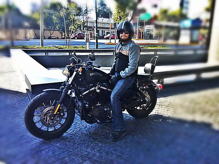 Mexico City Harley Davidson Sportster Iron 883